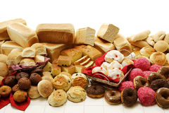 Sweet And Savoury Baked Goods Stock Images