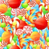 Sweet Seamless Pattern Stock Photo