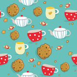 Sweet seamless pattern Stock Photography