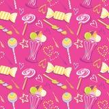 Sweet seamless pattern Royalty Free Stock Photo