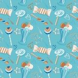 Sweet seamless pattern Stock Image