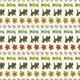 Sweet seamless pattern Royalty Free Stock Image