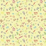 Sweet seamless pattern Royalty Free Stock Photography