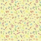 Sweet seamless pattern Royalty Free Stock Photography
