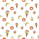 Sweet seamless texture. Stock Images