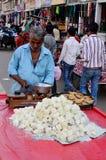 Sweet Seller at Jodhpur Market, India Stock Photography