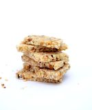 Sweet sesame bars, Childhood nostalgia Stock Photo