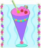 Sweet Sherbet Sundae Royalty Free Stock Photography