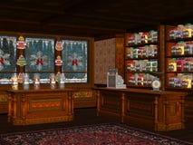 Sweet Shop 2. 3d render of Sweet Shop Stock Photos