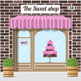 Sweet shop. Candy store, confectionery store. Stock Photography