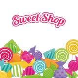 Sweet shop Stock Image