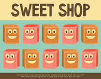 Sweet Shop Royalty Free Stock Photo