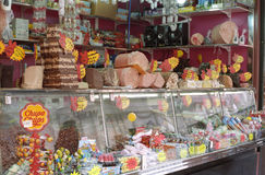 Sweet shop in Rome Stock Photography
