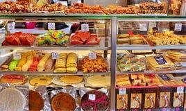 Sweet shop stock photos