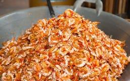 Sweet shrimp, the preserved shrimp dessert Royalty Free Stock Photography