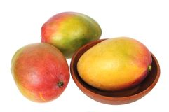 Sweet single mango Royalty Free Stock Photo