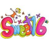Sweet Sixteen Girl Stock Image