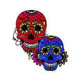 Sweet skull Stock Images