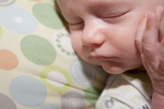 Sweet Sleeping Baby Stock Image