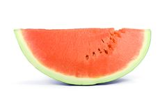 Sweet slice of watermelon Stock Photography