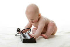 Sweet small baby Stock Image