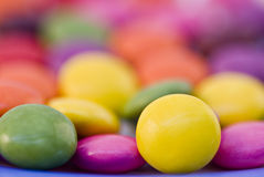 Sweet smarties Royalty Free Stock Images
