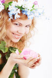 Sweet smell Royalty Free Stock Photos
