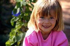 Sweet smile royalty free stock photos