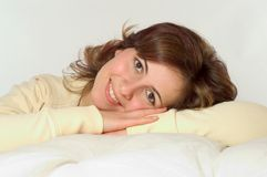 Sweet smile Stock Photo