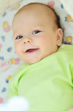 Sweet smiling baby Stock Image