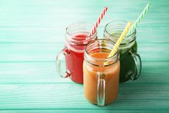 Sweet smoothie Stock Photos