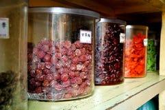 Dried fruit snacks Stock Photo