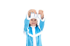 Sweet Snow Maiden Stock Images