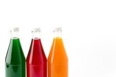 Sweet soft drink bottle Royalty Free Stock Photo