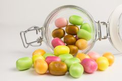 Sweet and sour candies Royalty Free Stock Photo