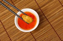 Sweet and Sour Chicken royalty free stock photography