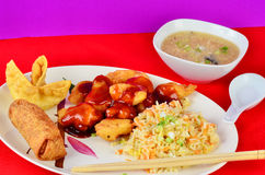 Sweet and Sour Chicken Royalty Free Stock Images