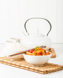 Sweet and Sour Chicken Portrait Royalty Free Stock Images