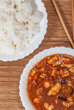 Sweet and sour chicken. Stock Images