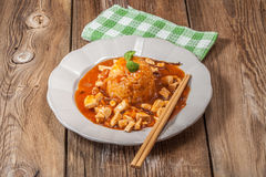 Sweet and sour chicken. Stock Photography