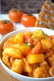 Sweet and Sour Chicken Stock Photography