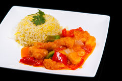 Sweet and Sour Fish Royalty Free Stock Photo