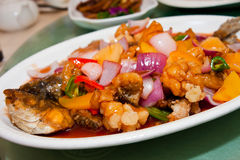 Sweet and sour fish Stock Photography