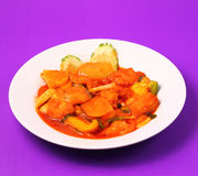Sweet and sour fish Stock Images