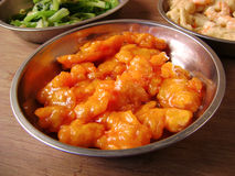 Chinese classic sweet & sour pork Stock Photo
