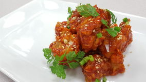 Sweet & Sour Pork Stock Images