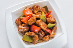 Sweet and sour pork Stock Photography