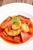 Sweet and Sour Prawns Dish Stock Photography