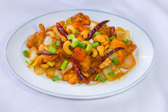 Sweet and sour sauce fried with pork Stock Photography