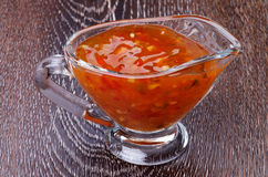 Sweet and Sour Sauce Royalty Free Stock Photos